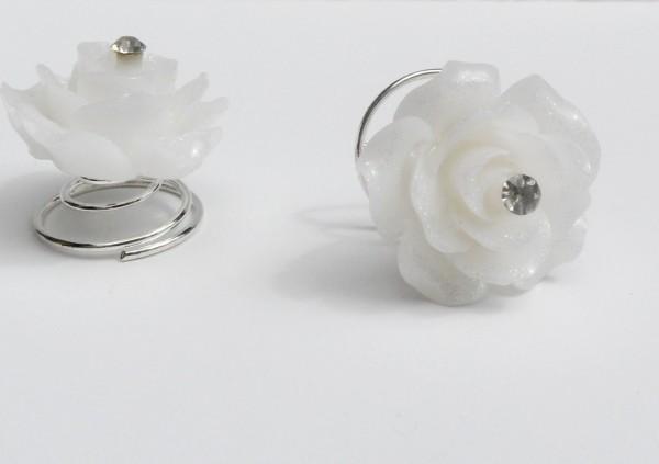 Curlie - Rose mit Strassstein