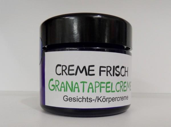 Creme Frisch - Granatapfelcreme