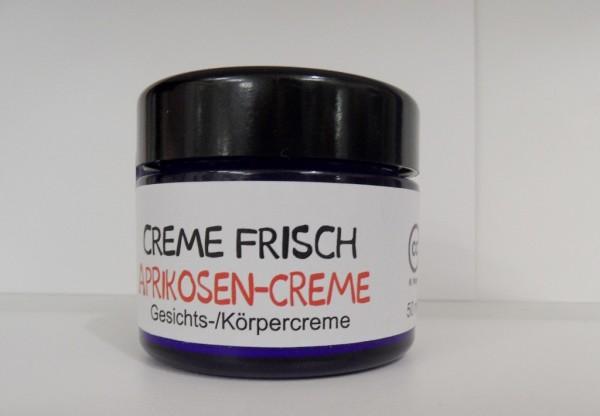 Creme Frisch - Aprikosencreme