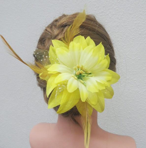 Fascinator - Blume Frühling