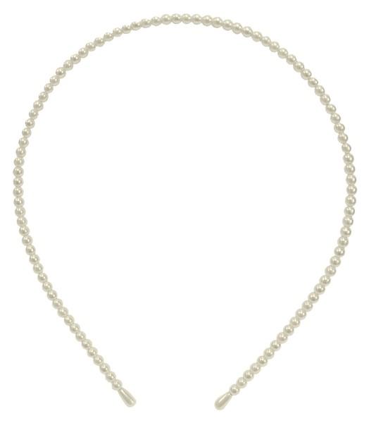 Solida - Haarreif Perlen