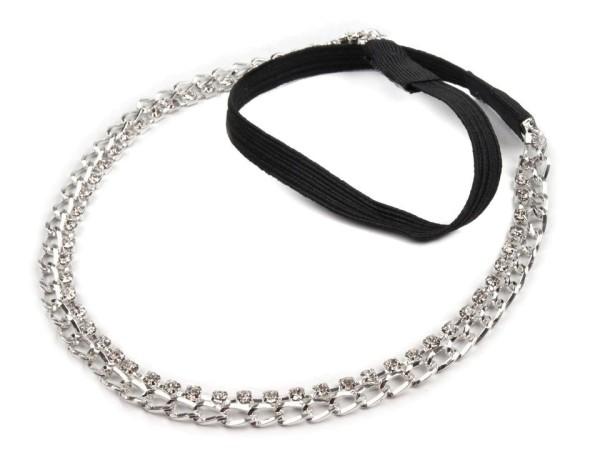 Haarband - Strasssteinchen