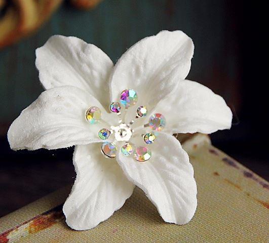 Haarnadel - Schwertlilie