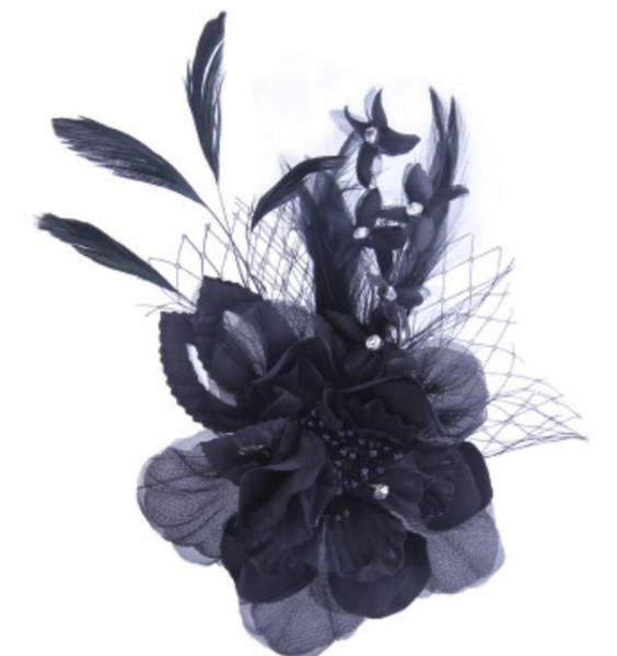 Fascinator - Dark Orchid